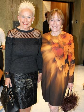Barbara Daseke, Laree Hulshoff, CCB 10 Best Dressed luncheon