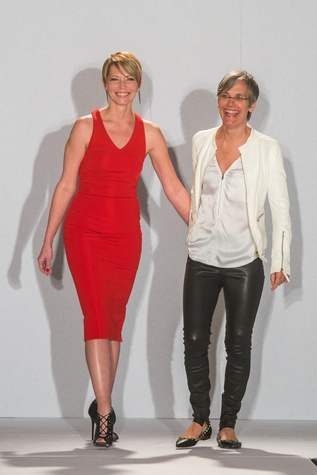 Sarah Pope-Eliason, left, Monica Pope at the Tootsies Love's in Fashion event February 2015