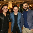 Christopher Leal, Alex Rodriguez, Michael Heredia