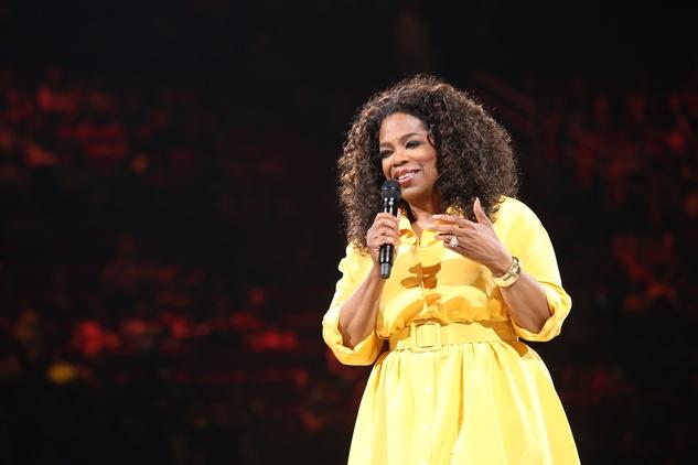 Oprah wide shot