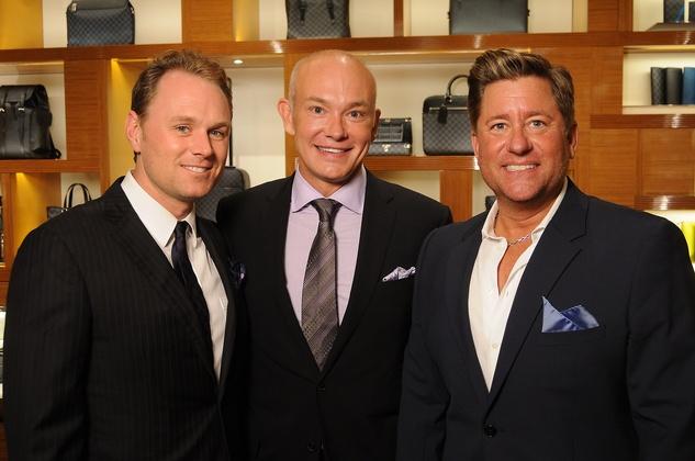 Houston, Louis Vuitton Alley Theatre Salute, September 2015, Andrew Cordes, Louis Vuitton's Andy Fullen, Brian H. Teichman