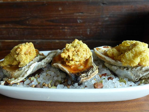 BRC American Gastropub new menu September 2013 oysters