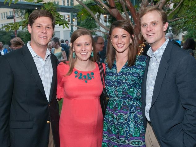Beacon Fundraiser, October 2012, Logan Moncrief, Melissa Moncrief, Lauren Moncrief, Matt Moncrief