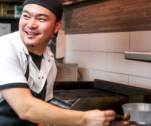 Old Thousand restaurant chef David Baek
