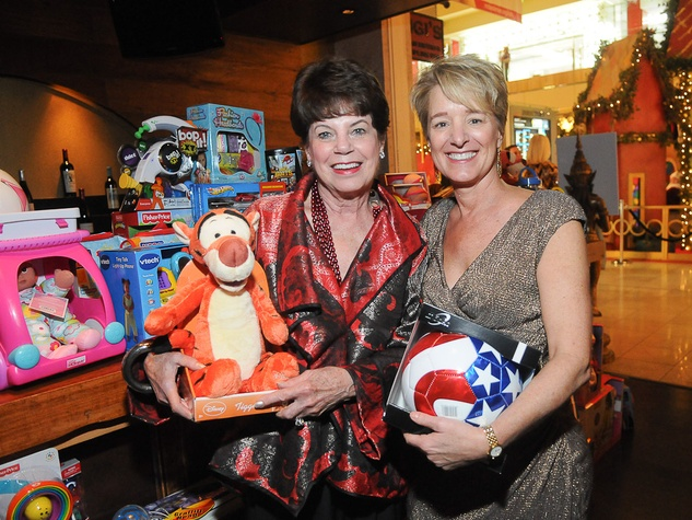 6111, Joyful Toyful at Gigi's, December 2012, Andy Delery, Brenda Koch
