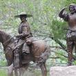 Austin Photo Set: News_Gabino Iglesias_Tejano Monument_march 2012_horse