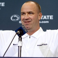 Bill O'Brien arms up