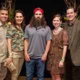 ... Hilgers at the LifeHouse Houston Duck Dynasty dinner September 2014