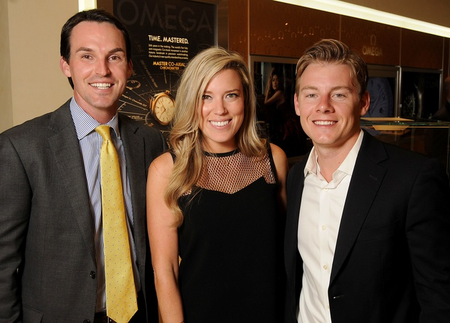 Houston, Project 88 kick-off party, October 2015, Jonathan Lusk, Holly and Austin Alvis
