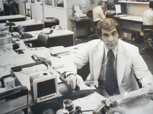 John Hambrick former KHOU anchor in newsroom