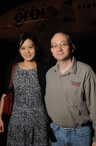 Orbis Flying Eye Dr. Cynthia Tung, Dr. Dan Gombos
