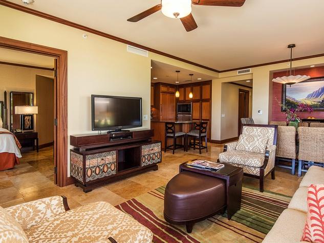 Spacious villas at Kolao Landing Resort are ideal for families