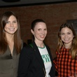 Caroline Dawson, from left, Cara Rudelson and Emily Goetz at the Urban Wild of Memorial Park Conservancy's Launch Party March 2015