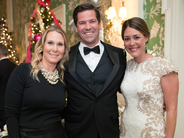 27 Debbie Chenevert, from left, with John and Elizabeth Stiver at the Trees of Hope Gala November 2014