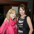 17 Kim Padgett, left, and Jessica Rossman at the Holly Rose Ribbon Shades of Roses kick off party July 2014