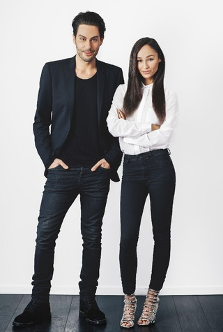 Joey Maalouf and Cara Santana of The Glam App