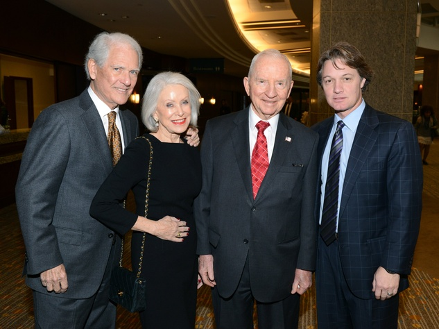 Jennie Reeves, Stuart Reeves, Ross Perot, Eric Reeves, National Philanthropy Day