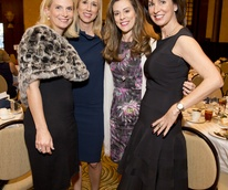 Bo's Place Luncheon, Feb. 2016, Ashley Pradka, Caroline Finkelstein, Anna Claire Hankamer, Julie Oliver