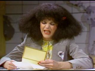 Gilda Radner as Roseanne Rosannadanna