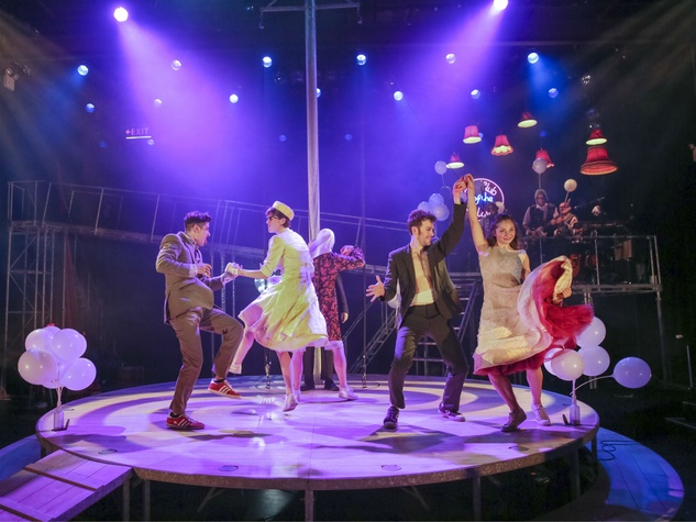Alley Theatre presents Kneehigh's Tristan and Yseult