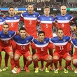 U.S. men's national soccer team photo before game