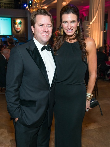 29 Michael and Melissa Mithoff at the Children's Museum Gala October 2014