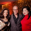 Cindy Mora, from left, Mark Sullivan and Gigi Huang at the Texas Film Awards Event February 2015