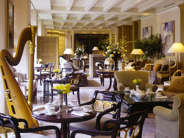 afternoon tea, St. Regis, August 2012, tea room
