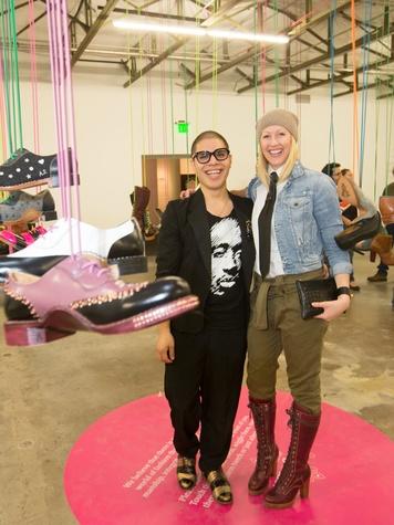 Dan Rodriguez, Angela Scott, Dallas Contemporary Exhibition Opening