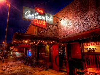 Austin Photo: Places_Live Music_Continental Club_Exterior
