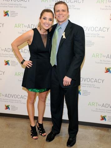 Chris Settle, Caroline Settle, art for advocacy