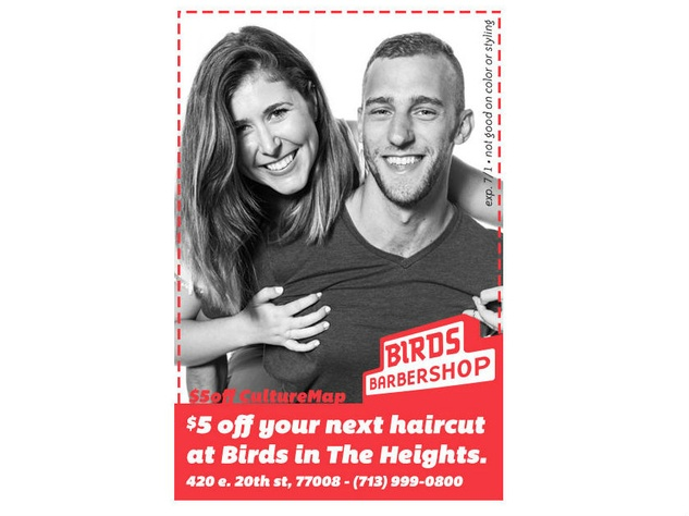 Bird's Barbershop coupon
