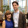 News, Shelby, Alley Theatre opening night dinner, August 2014, Rachel Volz, Jason Volz