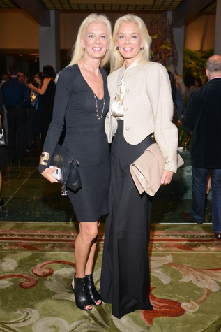 13 1867 Tama Lundquist, left, and Tena Lundquist Faust at the Jonathan Blake fashion party April 2014