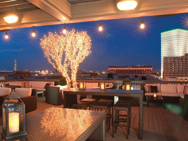 Tremont House rooftop bar Galveston