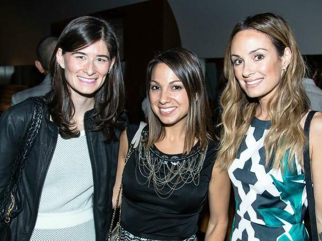 Jaclyn Rice, Sarah Boyd, Catt Sadler at Simply Stylist