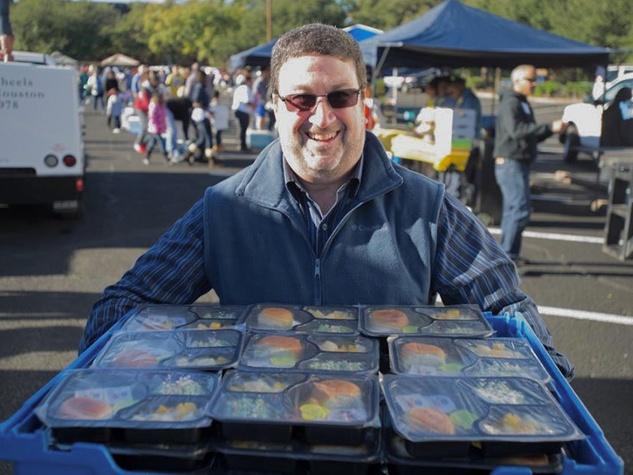 Interfaith Ministries meals on wheels program volunteer