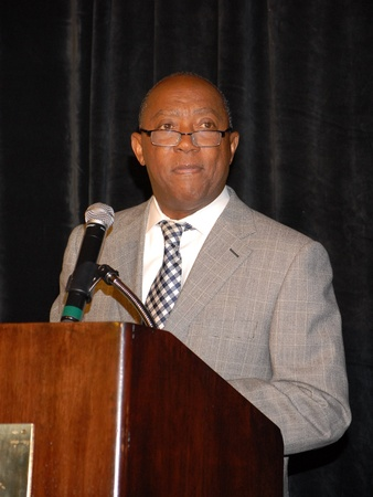 Brentwood luncheon, June 2012, Sylvester Turner
