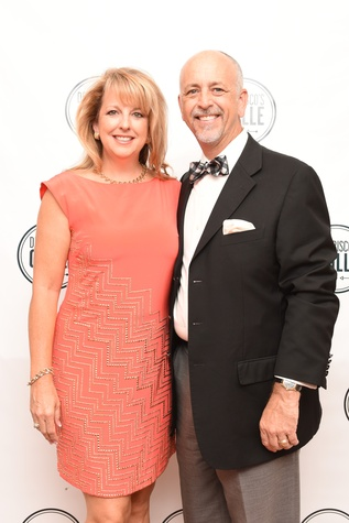 Del Frisco's Opening Woodlands Tina and Gary Blanton