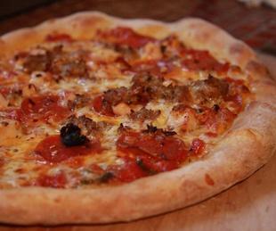 crisp pizza