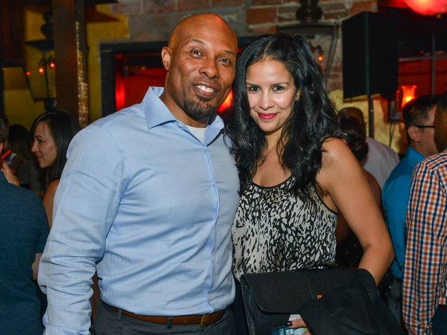 15 Uchenna Agu and Erica Renee Garza at the CultureMap Social at Boheme September 2014