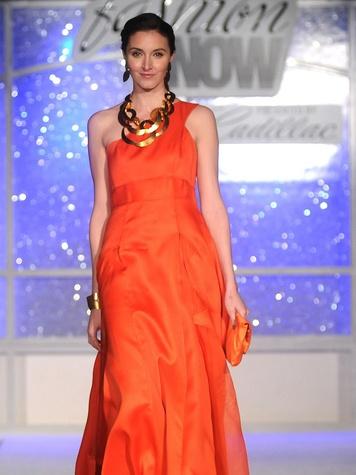 Simon Primavera Fashion Show, model