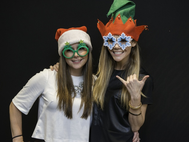 News, Shelby, Twins Wish List party, December 2014, Ashley McCullough, Christi McCullough