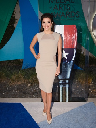 23, Texas Medal of Arts, March 2013, 5912, Eva Longoria