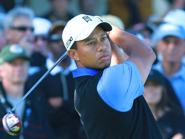Tiger Woods, Pebble Beach, 2012 Pro-Am, golf