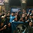 San Jac Saloon Carolina Panthers fans Dirty Sixth Street 2016