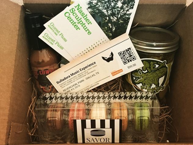 Dallas Box Co. subscription box with local goods
