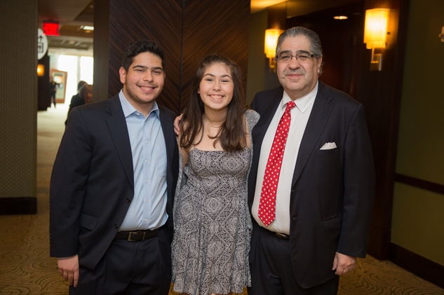 News, Shelby, Holocaust museum luncheon, Nov. 2015, Solomon Guefen, Ahava Guefen, Guillermo Guefen.