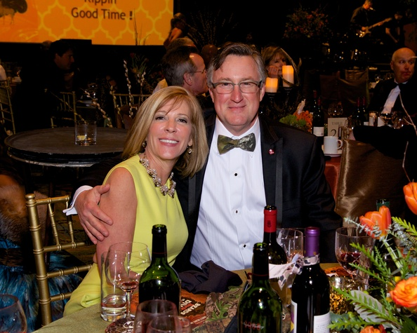 Stacey and Steve Bourque at the Montgomery County Heart Ball March 2014