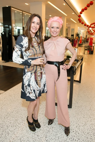 23 Liz Glanville, left, and Vivian Wise at the Elie Saab luncheon December 2014
